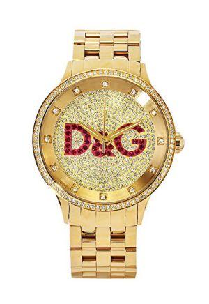 Orologio da donna Prime Time dorato di Dolce&Gabbana