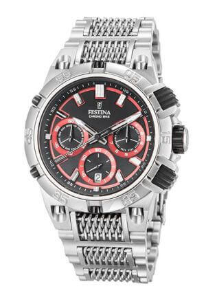 Orologio da uomo Chrono Bike 2014 Tour de France di Festina