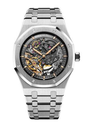 Orologio da uomo Royal Oak Double Balance wheel Openworked di Audemars Piguet