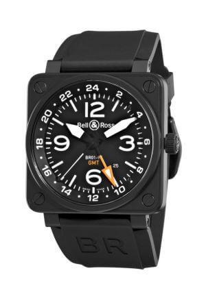 Orologio da uomo Instruments BR 01-93 GMT 24H di Bell & Ross