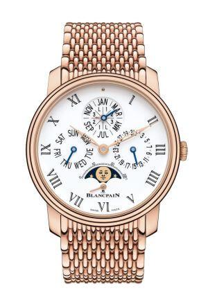 Orologio da uomo QUANTIÈME PERPÉTUEL 8 JOURS di Blancpain