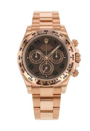 Orologio unisex Daytona Chocolate Dial di Rolex