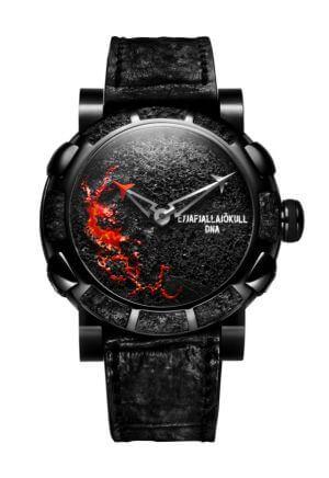 Orologio da uomo Eyjafjallajokull-DNA Black Volcano di Romain Jérôme