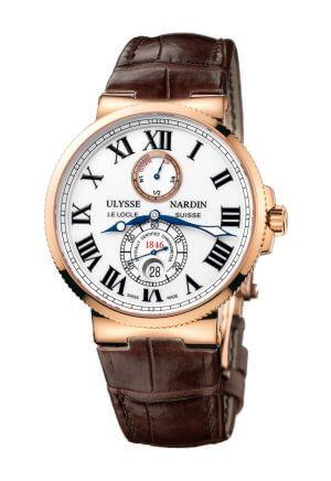 Orologio da uomo Chronometer Automatic 18kt Rose Gold di Ulysse Nardin